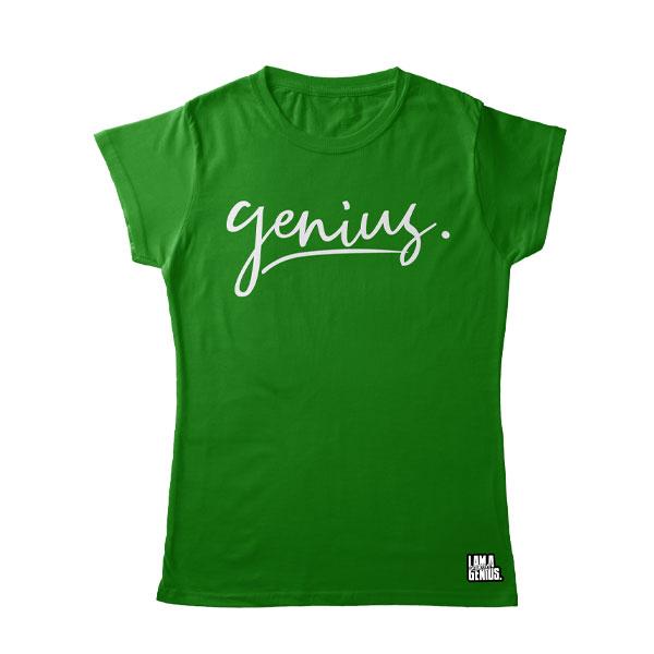 green genius women tee